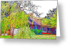 Suburban Home 3 Greeting Card