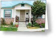 Suburban House Hayward California 20 Greeting Card