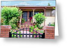 Suburban House Hayward California 38 Greeting Card