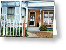 Suburban House Hayward California 9 Greeting Card