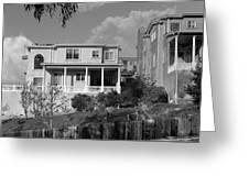 Suburban House On Hayward Boulevard Hayward California 2 Greeting Card