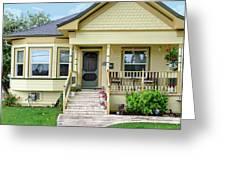 Suburban Victorian Cottage House Hayward California 37 Greeting Card