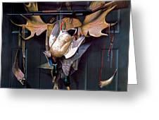 Successful Hunter  Door Art Greeting Card
