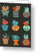 Succulent Garden No. 1 Greeting Card