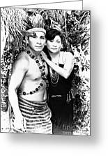 Sucua Shaman And Spouse Greeting Card