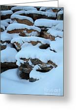 Suddenly Winter 2 Greeting Card
