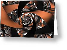 Suede Spiral Greeting Card