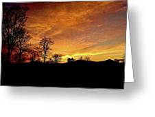 Suffused With Harmony Greeting Card