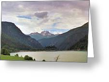 Sufnersee View Greeting Card