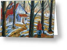Sugar Bush Greeting Card