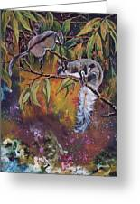 Sugar Gliders Greeting Card