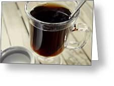 Sugar In My Coffee Greeting Card