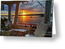 Sugar Islander II Sunrise -0054 Greeting Card
