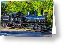 Sugar Pine Railway Train Greeting Card