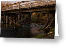 Sugar River Trestle Wisconsin Greeting Card