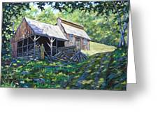 Sugar Shack In July Greeting Card