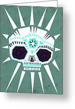 Sugar Skull IIi Greeting Card