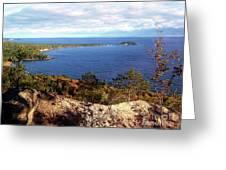 Sugarloaf Mountain In Autumn Greeting Card