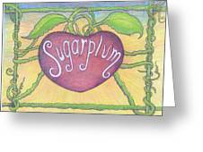 Sugarplum #2 Greeting Card
