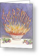 Sugarplum Fire Greeting Card