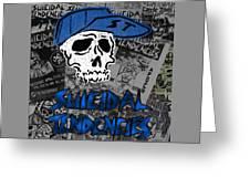 Suicidal Tendencies Greeting Card