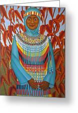 Sulawesi Girl Greeting Card