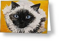 Suli Face Greeting Card