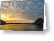 Sullivan Bay Sunrise Greeting Card