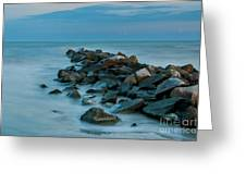 Sullivan's Island Rock Jetty Greeting Card