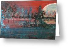 Sultry Sunset Greeting Card