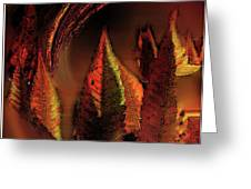 The Sumac Forest Greeting Card