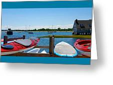 Summer Afternoon Boating Greeting Card