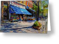 Summer Afternoon, Columbus Avenue Greeting Card