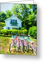 Summer Afternoon In The Hamptons Greeting Card