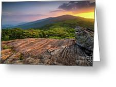 Summer Along The Appalachian Trail Greeting Card