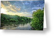 Summer Along The West Fork Greeting Card