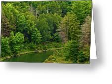 Summer At Black Rock Greeting Card