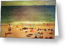 Summer At The Cape Iv Greeting Card