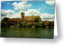 Summer. At The Resort In Bad Saeckingen. Germany. Greeting Card