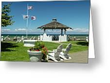 Summer At The Shore Greeting Card