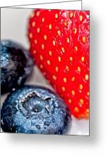 Summer Berries Greeting Card