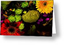 Summer Boquet Greeting Card