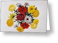 Summer Bouquet Greeting Card