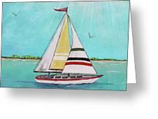 Summer Breeze-d Greeting Card