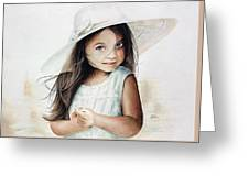 Summer Claire Greeting Card