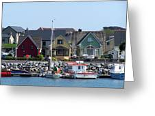 Summer Cottages Dingle Ireland Greeting Card