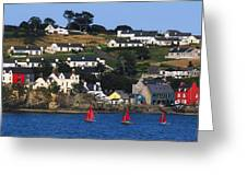 Summer Cove, Kinsale, Co Cork, Ireland Greeting Card