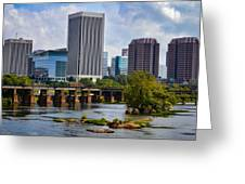 Summer Day In Rva Greeting Card