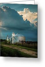 Summer Farm Greeting Card