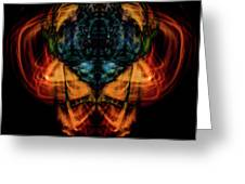 10644 - Summer Fire Mask 44 - The Battle Imp Greeting Card